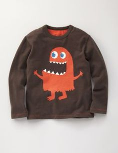 Logan can wear a shirt like this for his 1st year Monster Birthday Party!