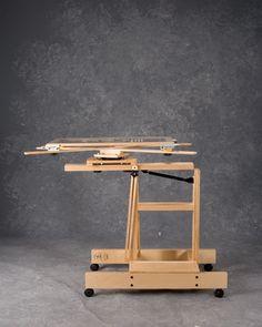 Windmill® Studio Revolving/Rotating Easels - JerrysArtarama.com  #artstudio #hartparty #artsherpa