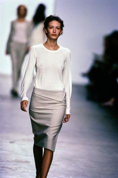 Calvin Klein Collection Spring 1999 Ready-to-Wear Fashion Show - Rhea Durham