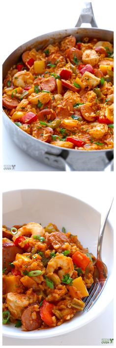 Jambalaya -- this homemade recipe is simple to make, and SO delicious! | gimmesomeoven.com