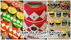 Ideas de decoración para fiesta infantil de Power Rangers