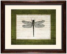 "Dragonflies I 19 1/2"" Wide Wall Art -"