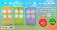 #control printr-o singura apasare de #buton! Alege #kit-ul #nice #inti2 si fii liber sa faci ce iti doresti cu cele 3 telecomenzi! http://www.automatizari.store.ro/Telecomenzi-radio/Kit-uri-telecomenzi/Producator-automatizari-Nice/Kit-telecomenzi-Nice-Era-Inti-2-IntiKit