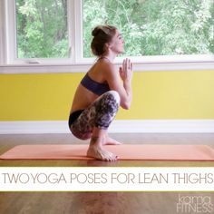 TWO YOGA POSES FOR LEAN THIGHS. Visit www.sophysport.com for your next yoga Ball