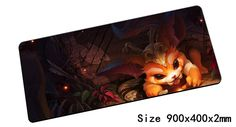 Gnar mouse pad 900x400x2mm pad mouse lol notbook computer mousepad Missing Link gaming padmouse gamer keyboard mouse mats