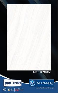 Millennium Tiles 800x1200mm (32x48) PGVT Porcelain Matt XXL Floor Tiles Series  - PMT_13