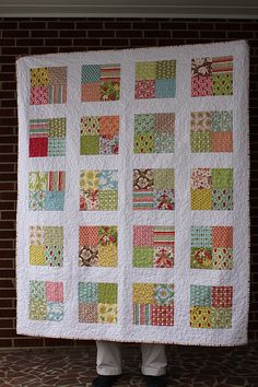 Verna Charm Pack blogged at www.frecklemama.com