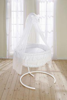Punkin Patch Interiors - Round Wicker Swinging Crib, $1,370.93 (http://www.punkinpatch.co.uk/round-wicker-swinging-crib/)