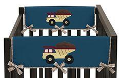 Sweet Jojo Designs Construction Zone Trucks Teething Prot... https://www.amazon.com/dp/B019JA760I/ref=cm_sw_r_pi_dp_Ut9CxbSQBJR2N