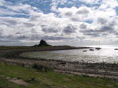 Lindisfarne, Northumberland. U.K. Northumberland Coast, Britain, Islands, Woods, Landscapes, England, Mountains, Places, Photos