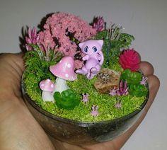 Pokemon Terrarium, Sculpture Ideas, Aspen, Diorama, Snow Globes, Balls, Diy And Crafts, Diys, Plush