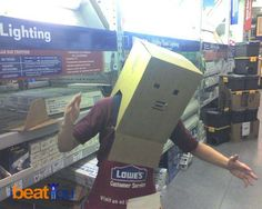 box robot ... OR find your dream job at www.jobdreaming.com Box Robot, Stop Wasting Time, Dream Job, Work Hard, Dreaming Of You, Things To Do, Finding Yourself, Things To Make, Working Hard
