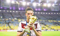 2014 Winner - Germany Lukas Podolski, Philipp Lahm, German National Team, Mario Gomez, Bastian Schweinsteiger, Toni Kroos, Football Is Life, Germany, Handsome