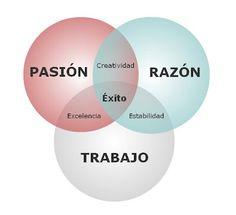 Diagrama de Venn del éxito