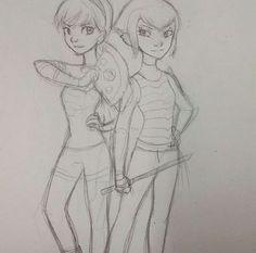 Drawing (c) catgirl_drawing TMNT