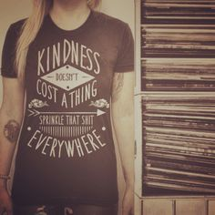 """Sprinkle kindness everywhere--it won't cost you a darn thing. Smiles are free, but they mean a whole lot. Let's make the most of each moment. Let's take care of ourselves by taking care of our planet, taking care of one another. """"The dawn of your own happiness is found when you focus on extending it to others"""" -Unknown #Integrity #Motivation #Quote #Karma #Heart #Soul #Namaste #InnerPeace #Philanthropy #Yogi #Breathe #Meditate #BePresent #LiveInTheMoment #LiveWithIntent #PayItForward…"""