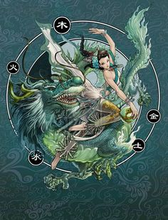 Dragon Spirit - Background by *daxiong on deviantART