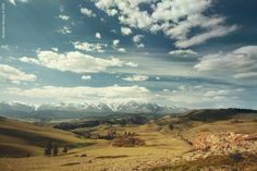 Altai Mountains by Alexander Nerozya