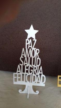 Souvenirs Arbolitos De Navidad En Mdf, Para Decoración - $ 35,00