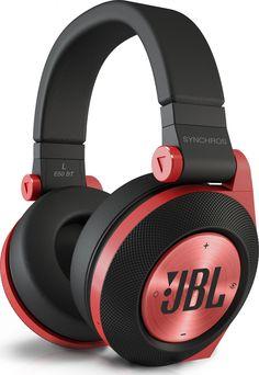 JBL Synchros E50BT Red, vzdy.cz