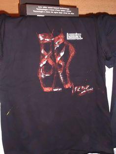 Camiseta ganadora en el evento #intermixable | por eventosfera #Liquitex