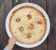 World's best apple pie. Hämmentäjä: Maailman paras, amerikkalainen omenapiirakka