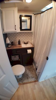 Pinterest  arilethbridge  Tiny House Bathroom Shower and Tub Ideas