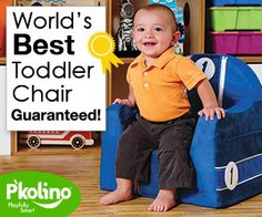 P'kolino Little Reader. World Best Toddler Chair; Guaranteed. Ideal for 2 year old child.  Available in many styles. Premium Embroidered Race Car Cover Shown.  www.pkolino.com #pkolino #littlereader #madeinusa