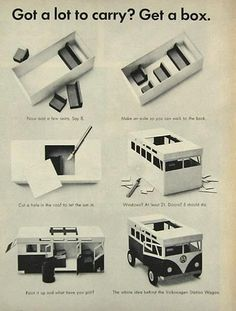 Vintage VW Bus Advertising and Brochures