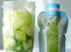 Cucumber Honeydew Melon Baby Food