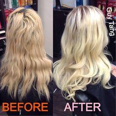 I fixed my clients hair
