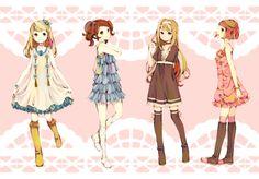 Anime fashions <3