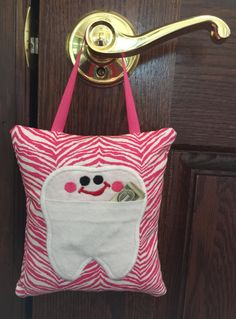 Tooth Fairy Pillow / Girls Tooth Fairy Pillow / Tooth Fairy Gift by NancysLittleBoutique on Etsy