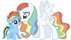 Rainbow Dash's Mother.