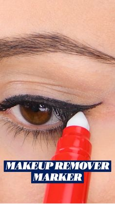 Eyebrow Makeup Tips, Eye Makeup Remover, Cute Makeup, Diy Makeup, Makeup Hacks, Makeup Makeover, Eyeliner Tutorial, Beauty Secrets, Beauty Tips