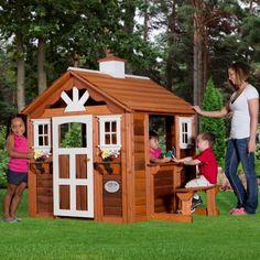 Kids Playhouse Diy #tinyhouses