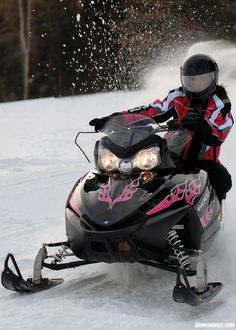 Bucket List: drive a snowmobile.