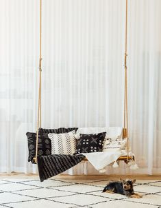 Onlineshop - Where bohemian style is at home Porch Swing, Outdoor Furniture, Outdoor Decor, Wardrobe Rack, Bohemian Style, Concept, Curtains, Style Inspiration, Rugs