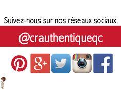 Suivez-nous sur nos différents réseaux sociaux pour rester toujours informés!
