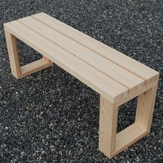 """Plank Bank in Kiefer – – Source by Related posts: Slimme hoek. Ipv … Continue reading """"Plank Bank in Kiefer – – Small Woodworking Projects, Woodworking Furniture, Diy Woodworking, Woodworking Techniques, Sketchup Woodworking, Awesome Woodworking Ideas, Woodworking Organization, Woodworking Quotes, Woodworking Equipment"""