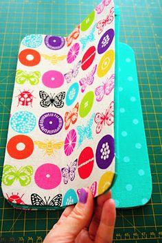 Bar-borka  Návod - obal na tablet I.   Tablet (i-pad) cover sewing  tutorial 9a3dc0bf589