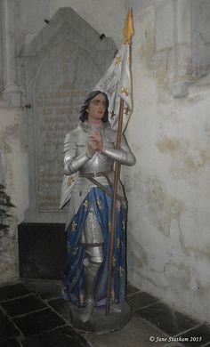 Jeanne d'Arc. La Roche-Derrien. Bretagne