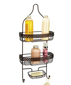 Take a look at this Rust Link Shower Caddy by Kennedy Collection on #zulily today!