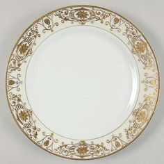 Noritake gold rimmed china.