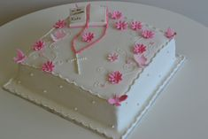 first holy communion cakes | ... christening cake first holy communion cakes baby baptism picture