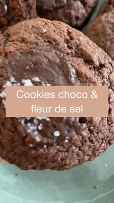 Chocolate Desserts, Chocolate Chip Cookies, Chocolate Cake, Easy Snacks, Healthy Snacks, Cookie Dough, Cookie Recipes, Cereal, Cooking