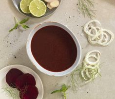 The robust flavor of beets is complemented by fennel, lime, and ginger in this cleansing blend. Earthy and slightly sweet, this soup is rich in folate and ma...