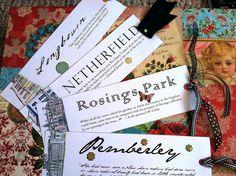 Jane Austen bookmark printables