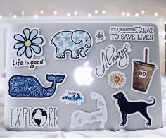 See more of bestvscovibes's content on VSCO. Mac Stickers, Preppy Stickers, Cute Laptop Stickers, Macbook Stickers, Tumblr Stickers, Keyboard Stickers, Macbook Decal, Macbook Skin, Macbook Case