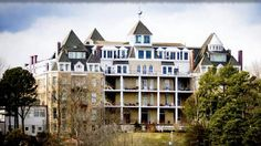 Guests have reported strange occurrences and sightings while staying in the Crescent Hotel, in Eureka Springs, AR. Its newest tour allows guests to hear Ozark Mountain ghost stories around a flickering campfire and visit the morgue at midnight.
